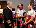 US Navy 101121-N-8273J-059 Chief of Naval Operations (CNO) Adm. Gary Roughead speaks with participants of the Ride 2 Recovery program.jpg