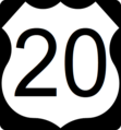US Route 20 in Illinois Road Sign.png
