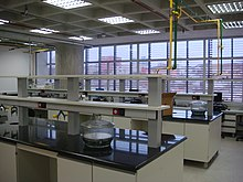 Teaching laboratory in UFABC.