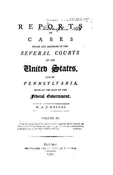 File:United States Reports, Volume 3.djvu