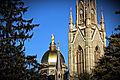 University of Notre Dame Golden Dome.JPG