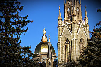 University of Notre Dame Golden Dome.JPG