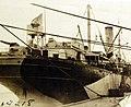 Unloading supplies from USS Ascutney, Russian Intervention, 1918-1920 (27423130143).jpg