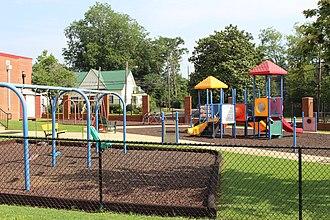 Pre-kindergarten - A pre-kindergarten playground
