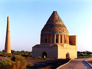 Mongol conquest of Khwarezmia - Ruins of Muhammad's palace in Urgench.