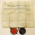 Urkunde Kaiser Franz Joseph I. über Grundherrschaft (Salzoberamt Gmunden) 1851.jpg