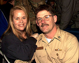 Mary Chapin Carpenter met Lt. Max J. Wildermuth
