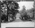 VIEW SHOWING NORTH APPROACH - Fannin County Road 222 Bridge, Spanning Toccoa River, Dial, Fannin County, GA HAER GA,56-DIAL,1-3.tif
