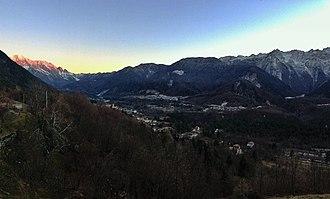 Resia, Friuli - The Resia Valley.
