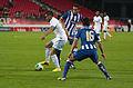 Valais Cup 2013 - OM-FC Porto 13-07-2013 - Dimitri Payet, Diego Reyes et Castro.jpg