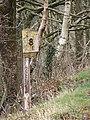 Vale of Rheidol Railway Milepost - geograph.org.uk - 724470.jpg