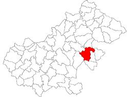 Vị trí của Valea Vinului