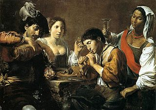 Musician and Drinkers