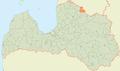 Valkas pagasts LocMap.png