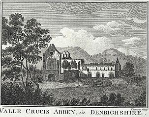 Valle Crucis Abbey: in Denbighshire