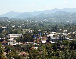 Вани - центр Ванского муниципалитета в Имеретии, Грузия