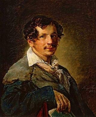 Портрет Петра Булахова. 1823. Государственная Третьяковская галерея