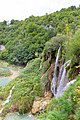 Veliki Slap Waterfall in Plitvice Lakes National Park, Croatia, a view from above (48669983158).jpg