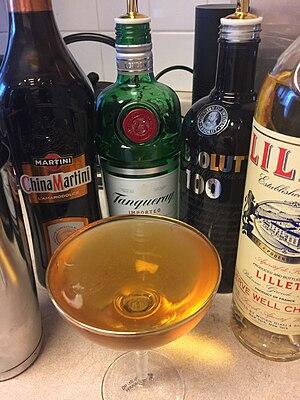 Vesper (cocktail) - Vesper Martini