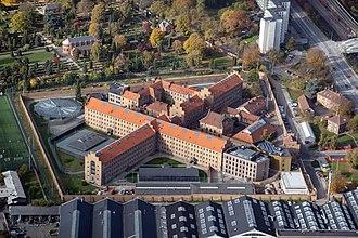 Vestre Prison - Image: Vestre Fængsel aerial