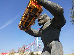 parc attraction king kong