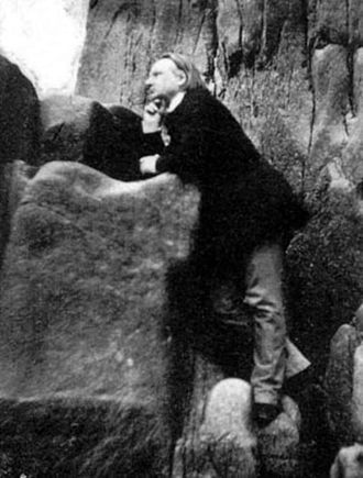 Victor Hugo - Among the Rocks on Jersey (1853–55)