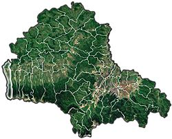 Location of Victoria, Brașov