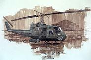 VietnamCombatArtMountainClimberbyStephenHRandallCATVII1968