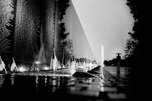 The Vietnam Veterans Memorial located in Washi...