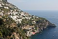 View from Positano to Praiano at the Amalfi coast (31180428157).jpg