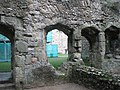 View from Richard II's Palace out into the courtyard at Portchester Castle - geograph.org.uk - 1085775.jpg