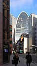 View of 70 St Mary Axe from Bevis Marks and Creechurch Lane.jpg