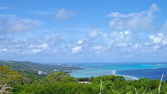 Saipan - View of northern Saipan