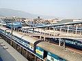 View of Visakhapatnam railway station.jpg