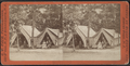 View of campers in front their tents, from Robert N. Dennis collection of stereoscopic views.png
