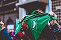 Vigilia por la votación de la Ley de Interrupción Voluntaria del Embarazo en Paraná 09.jpg