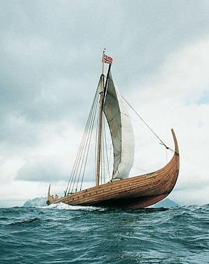 Viking metal - A replica longship, Lofotr