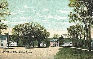 Alfred, Maine - Village Square c, 1906