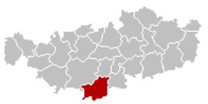 Villers-la-Ville - Image: Villers la Ville Brabant Wallon Belgium Map