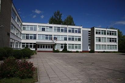 Kaip pateikti į Vilniaus Vasilijaus Kačialovo Gimnazija viešuoju transportu - Apie vietovę