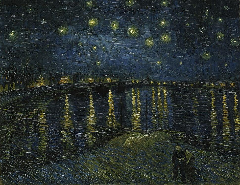 Vincent van Gogh - Starry Night - Google Art Project