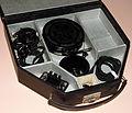 Vintage Acousticon Silver Anniversary Model 28 Carbon Hearing Aid, Circa 1927 - 1932 (15964041803).jpg