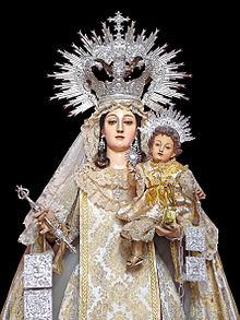 Resultado de imagen de Virgen de las Mercedes en San Fernando