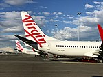 Virgin Australia aircraft at Sydney Airport 2017.jpg
