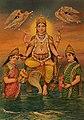 Vishnu by M V Dhurandhar.jpg