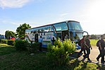 Visitors Leaving Shuttle Bus at Hualien Air Force Base 20170923.jpg