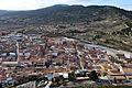 Vista de Castalla i la Serratella des de la torre Grossa del castell.jpg
