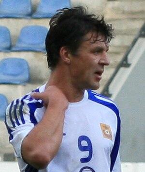 Vīts Rimkus - Rimkus playing for FK Ventspils
