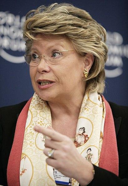 Viviane Reding über ein digitales Europa als Ausweg aus der Krise