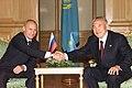 Vladimir Putin in Kazakhstan 4 June 2002-5.jpg